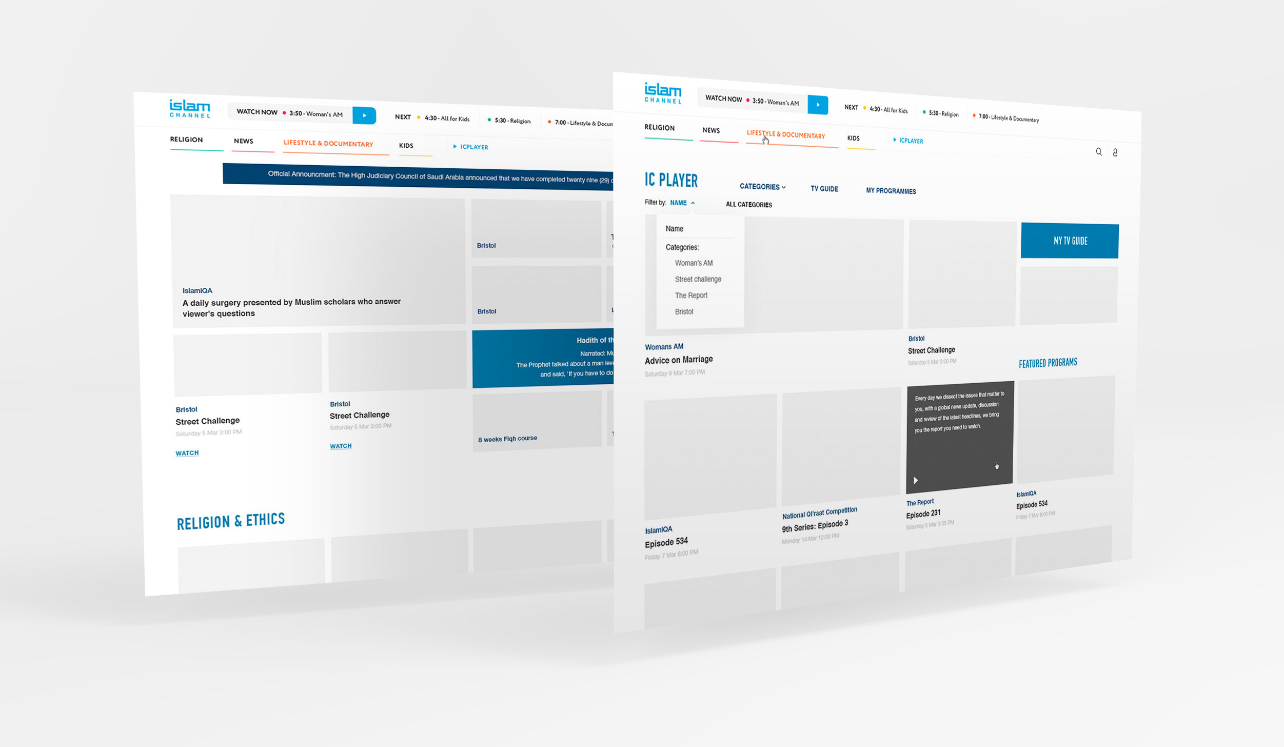 wireframes_islam-channel